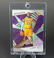 Lebron James REVOLUTION SPARKLE REFRACTOR LAKERS - UV CASE - INVESTMENT - MINT