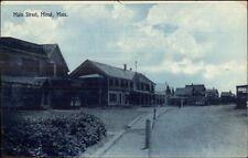 Minot Ma Main St. c1910 Postcard