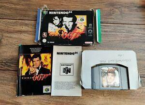GoldenEye 007 Nintendo 64 Boxed (64, 1997) TESTED Rare Retro Gaming
