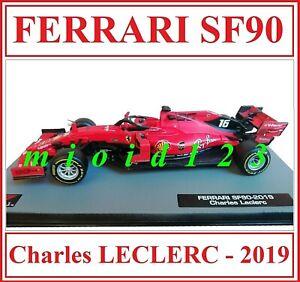 F1 2019 - FERRARI SF90 : Charles LECLERC - 1/43 Die-cast