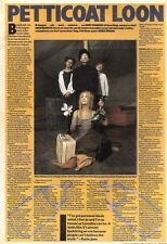 14/3/92Pgn17 Article & Picture petticoat Loon From One Hit Wonders Daisy Chainsa