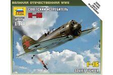 ZVEZDA 6254 1/144 I-16 Soviet Fighter