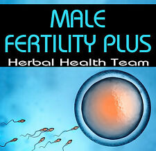 """MALE FERTILITY PLUS"" START BOOSTING YOUR SPERM COUNT SAFELY - 4 MONTH COURSE"
