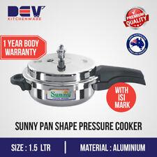 Sunny 1.5 Ltrs small Pressure Baby Pan 1.5 L Aluminium Pressure Cooker 1.5 Liter