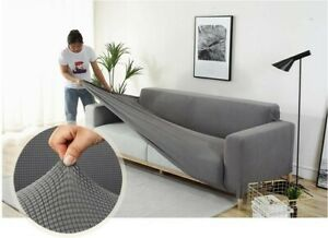 1/2/3/4-Seater Stretch Sofa Cover Slipcover Furniture Protector Couch Cover