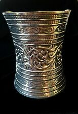 Bracelet Cuff Tribal Big Silver Hippie Ethnic Boho Gypsy Bohemian B1015