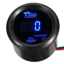 52mm Auto KFZ Digital Öltemperatur Öl Temp Instrument Anzeige LED Beleuchtet