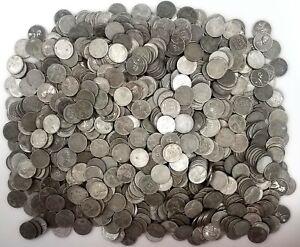 Lot of 1000 of 1943 Steel Cents! Mixed bag of P's, D's, and S's!
