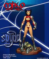 Miko: Robot Killer - Resin Model Kit  by Spyda (sexy female anime girl)