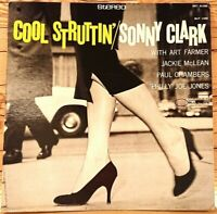 SONNY CLARK COOL STRUTTIN' STEREO BST-81588 BLUE NOTE US LP VINYL JAZZ