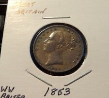 New listing 1853 Great Britain Farthing - High Grade Uk Coin