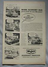 1961 Mobil Original advert No.1