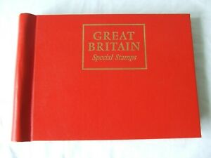 STANLEY GIBBONS GREAT BRITAIN 'SPECIAL STAMPS ALBUM & 1969-79 ILLUSTRATED PAGES