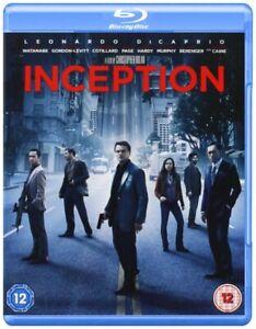 Inception Blu-Ray & DVD + Slipcase UK PAL Region B Leonardo DiCaprio