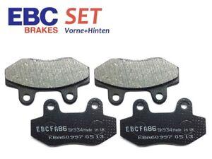 EBC Bremsbeläge SET Vorne + Hinten ITALJET Grifon #59 (650cc) 06