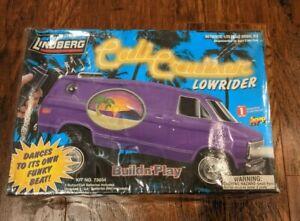 1/25 scale Lindberg  Cali Cruiser Lowrider Chevy Van plastic model kit SEALED