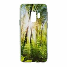 For Samsung Galaxy S9 Silicone Case Nature Forest Tree - S5300
