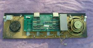 Williams Bride of PinBot Speakers +  Panel Display + Drivers Board Pinball Used