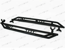 Side Armor Bars Nerf Step Black For 07-17 Jeep Wrangler JK & Unlimited 4 Door 4D