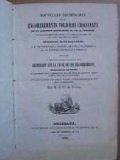 LABAT : NOUVELLES RECHERCHES SUR LES ENCOMBREMENTS DE LA GARONNE, 1840. Planches