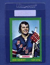 1973-74 OPC Rod Gilbert #156 (EXMT) Nice old Hockey Card * P5875