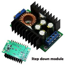 12A 300W CC CV Step Down Buck DC-DC Convertisseur 7-32V À 0.8-28V Batterie LED