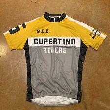 Twin Six 6 Mens 3/4 Zip Cycling Jersey M - Club Raglan Bicycling Racing - New