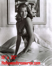 "Rita Hayworth~Shawshank Redemption~Poster~Photo~ 16"" x 20"""