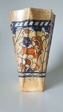 Charlotte Rhead at Crown Ducal Byzantine Wall Pocket Signed