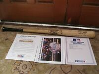 Johnny Damon Game Used Louisville Slugger Baseball Bat PSA Certified