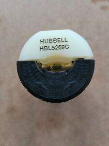 New no box Hubbell HBL 5269C 15A 125V 5-15R Insulgrip Connector