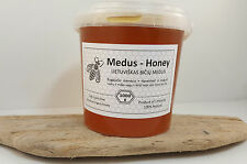 Honey Pure Raw Organic High Quality 1kg 2016 Haversted in August 100% Natural