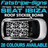 RENAULT MEGANE GRAPHICS STRIPES STICKERS DECALS 2.0 TURBO SPORT RS 250 265 275 D