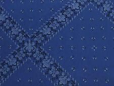 Blue Bandana Tissue Paper ~ Western Theme # 533 ~ 10 Large Sheets
