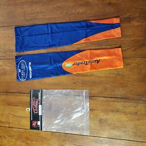 Giordana Cycling Arm Warmers 1 Pair Blue Orange L/XL NOS Vintage AutoTrader.com