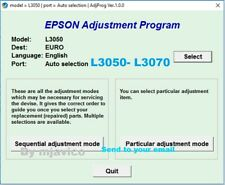 RESET EPSON L3050, L3070,✅reset waste ink counter 100%🔥1Pc key, emailed⭐⭐⭐⭐⭐