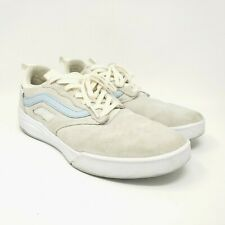 Vans 500383 Ultra Cush Lite Pro Sneakers Shoes Mens US 10 Cream Blue