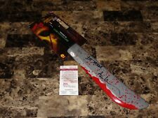 Friday The 13th Movie Rare Jason Voorhees Signed Prop Machete Ari Lehman JSA COA