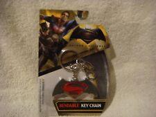 Batman/Superman  bendable key chain
