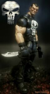 Marvel Legends Punisher custom action figure Olivetti style by Toycooker