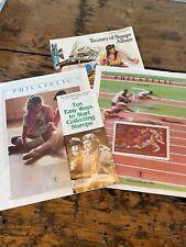 Usps Us Postal Service Philatelic Catalogs 1987 Lot of 2 Plus 2 Other Pamphlets