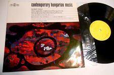 Contemporary Hungarian Music by Durko Zsolt Rhapsody Ungherese Psicogramma LP