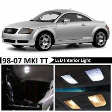 1998-2007 Audi TT MKI White Interior LED Lights Package Kit