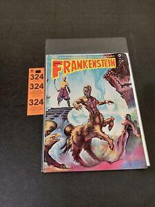 1974 CASTLE of FRANKENSTEIN MONSTER MAGAZINE # 21 SINBAD WRAPAROUND COVER