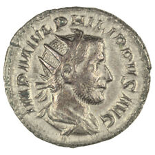 Philip I Antoninianus  Rev. Victory Advancing.  GVF