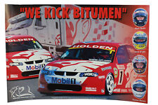 HRT We Kick Bitumen Poster Skaife Bright Longhurst Mezera Holden VX Commodore