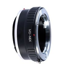 Adapter To Convert Minolta SR MD MC Rokkor Lens To Sony E-Mount For Alpha a7 ...