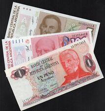 ARGENTINE 3 Billets NEUFS / Lot 145