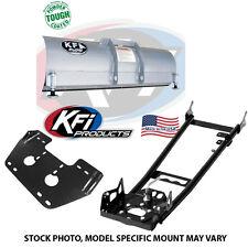 """KFI 60"""" Snow Plow Kit Blade/Push Tube/Mount ATV 105715 105000 105060"""