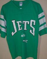 vintage 1990s New York Jets NFL football jersey t shirt Medium